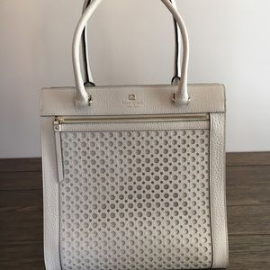 Kate Spade White Perri Lane Bubble Bag